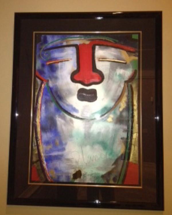 """""""Galenteria"""" Framed Original Multiple by Orlando, A.B."""