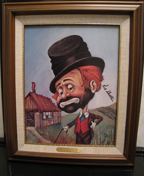 """""""Freddie's Shack"""" Framed Serigraph by Red Skelton"""