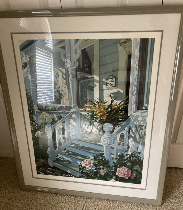 """Emily's Inn"" Signed and numbered Serigraph by Susan Rios"