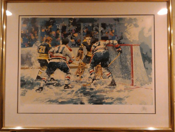 """""""Flying Ice"""" Serigraph by Wayland Moore"""