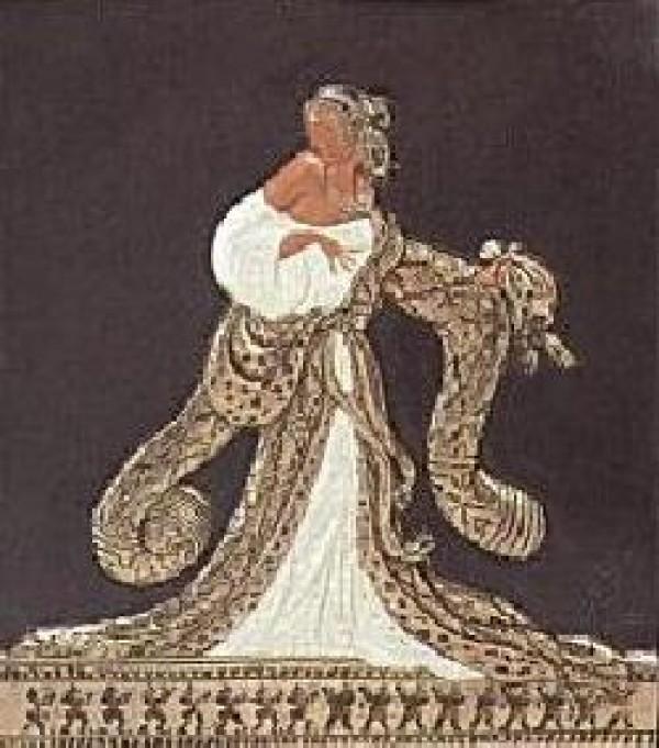 Rigoletto Bas Relief & Signed Book by Erte