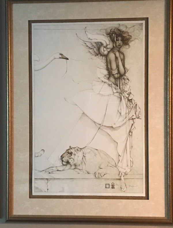 """""""Summer Memories"""" Stone Lithograph by Michael Parkes"""