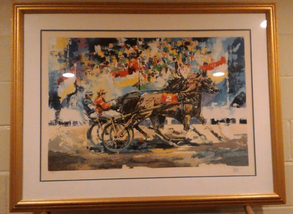 """Trotters"" 1978 Serigraph on Paper by Wayland Moore1000"