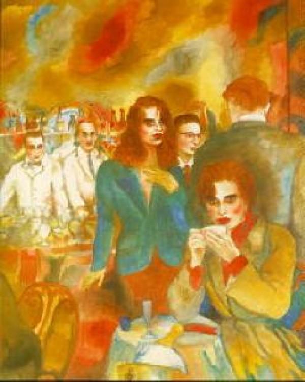 """Love, Life & Money, Part II"" Serigraph by Joanna Zjawinska"