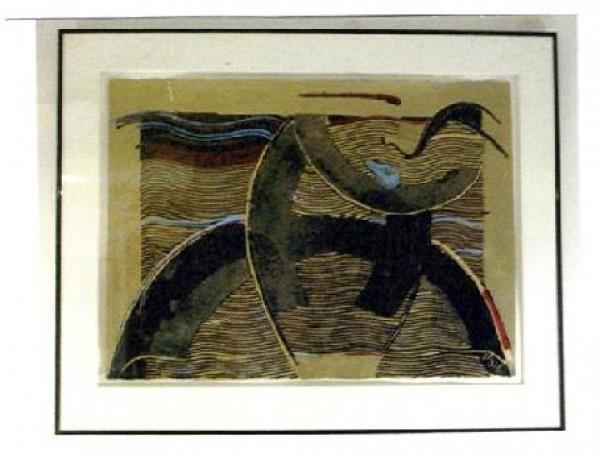 """""""Maria Eugenia"""" Framed Original Multiple by Orlando, A.B."""