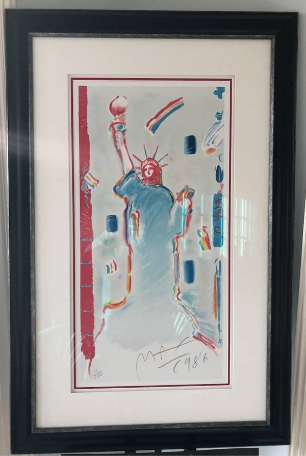 """""""Statue of Liberty 1986"""" Lithograph by Peter Max"""