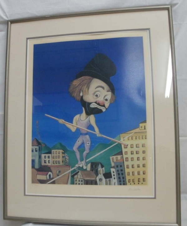 """""""Above It All"""" Framed Lithograph by Red Skelton"""