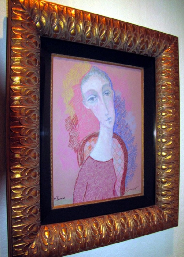 """Reflection"" Original Pastel/Paper by Sergey Smirnov"