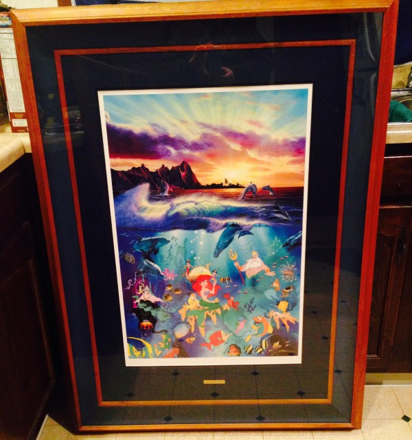 """Under the Sea"" Framed Artagraph by Christian Riese Lassen"