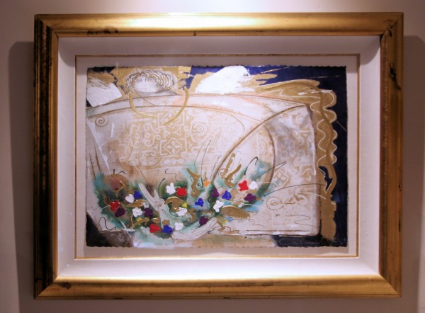 """Un Angel Llamado Maria del Pilar "" Original Embellished Multiple Print  by Orlando, AB"