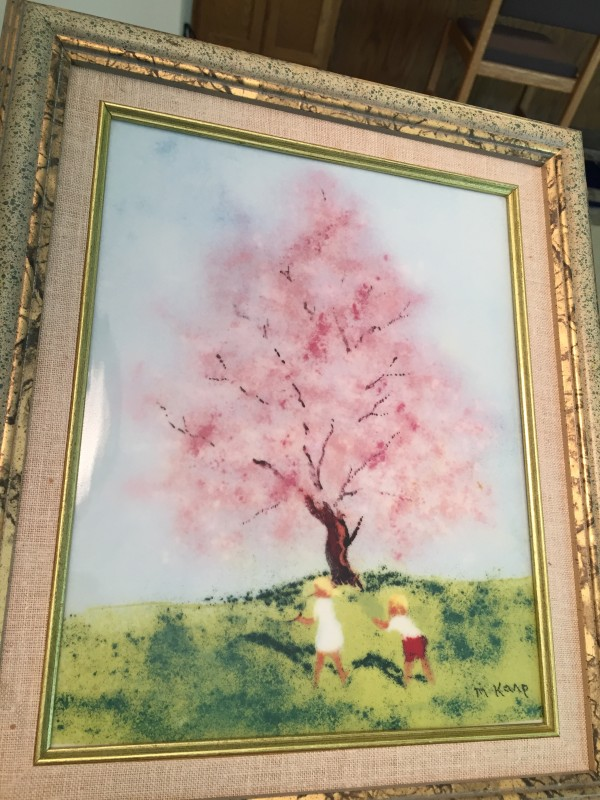 """""""Spring From the """"Four Seasons"""" Porcelain prints by Max Karp"""