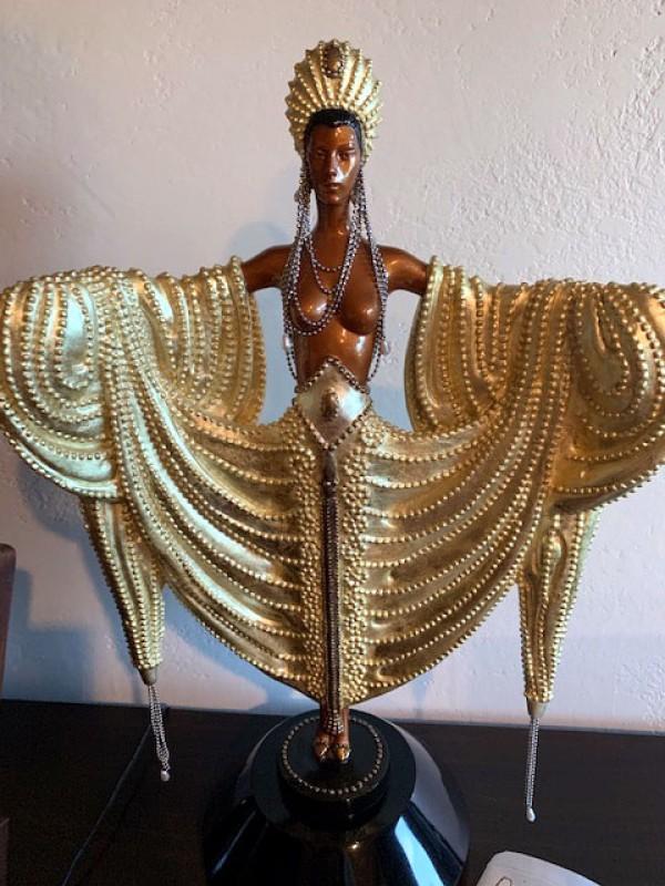 """""""Radiance"""" Bronze Sculpture by Erte"""