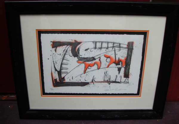 """""""If Dogs Run Free"""" Framed Lithograph by Mark Erickson"""