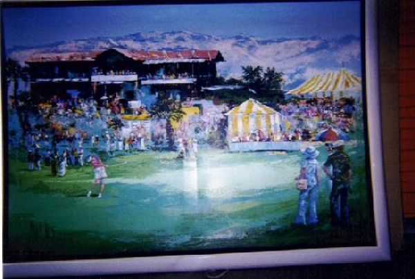 """""""Dinah Shore Classic"""" Framed Original Painting by Mark King"""