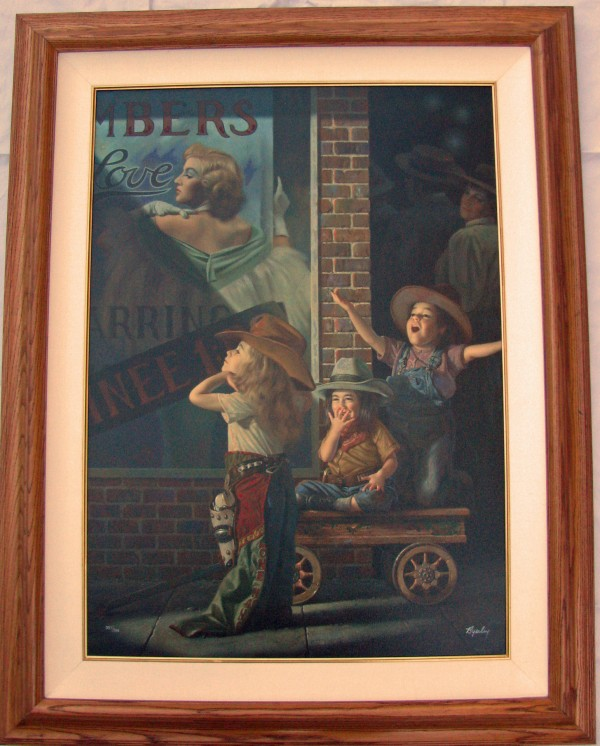 """""""Matinee"""" Giclee on Canvas by Bob Byerley"""