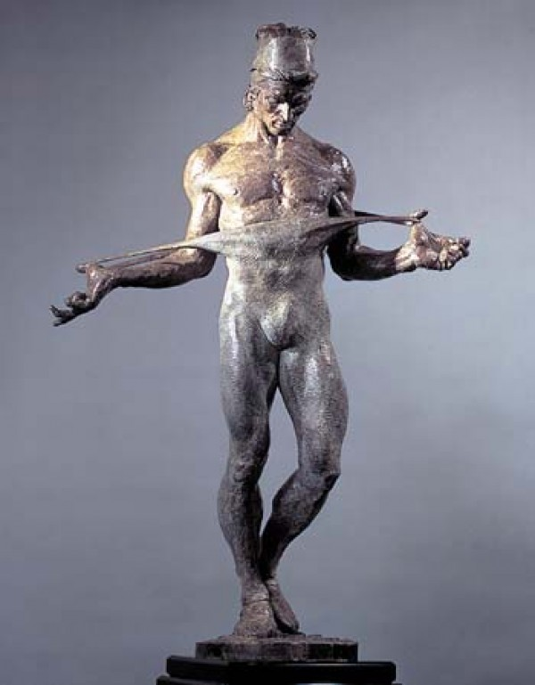 """Nureyev"" 1/2 Life Size Bronze Sculpture by Richard MacDonald"