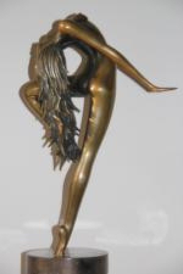 """Sundancer"" Bronze Sculpture by Bob and Tom Bennett"