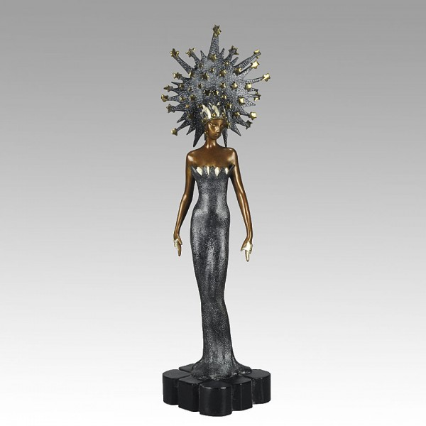 """Starstruck"" Bronze Sculpture by Erte"