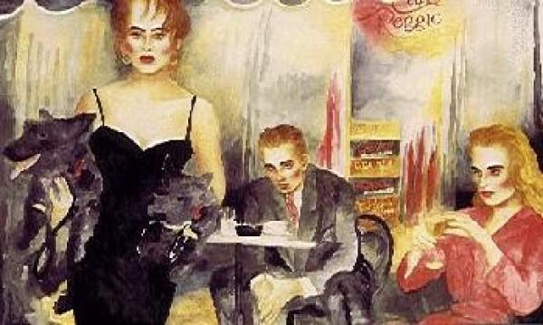 """Cafe Reggio"" Serigraph by Joanna Zjawinska"
