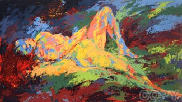 """""""Homage To Boucher"""" Serigraph by LeRoy Neiman"""