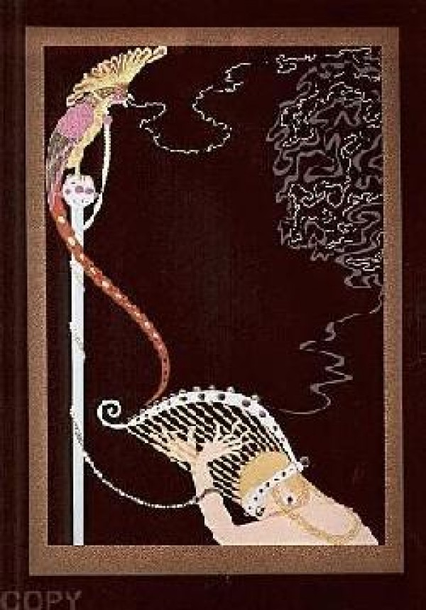 """""""Enchanted Melody"""" Embossed Serigraph by Erte"""