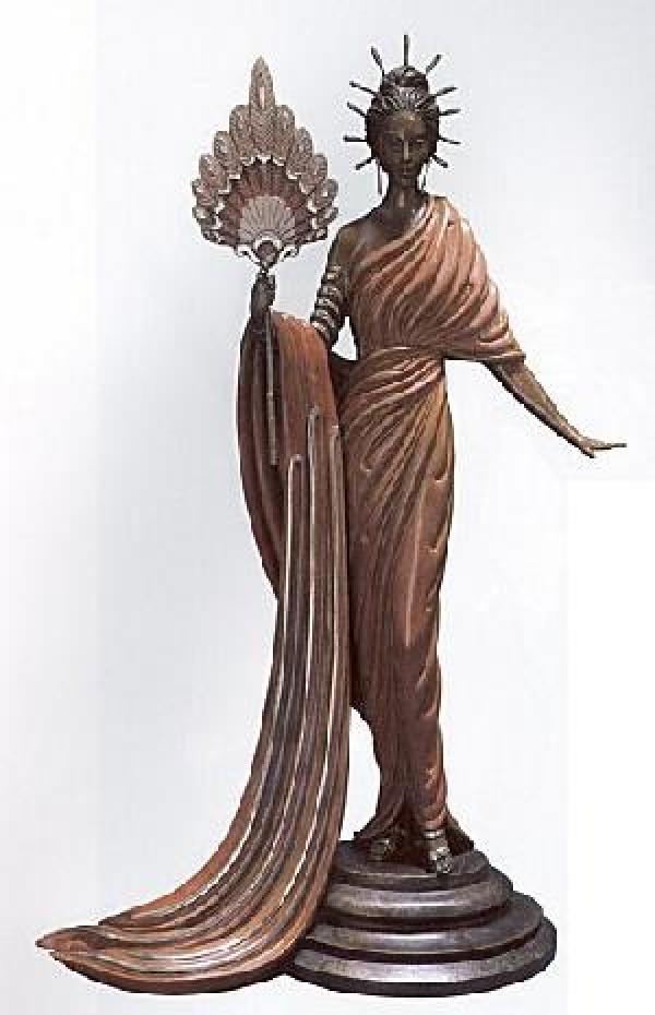 """Aphrodite"" Bronze Sculpture by Erte"