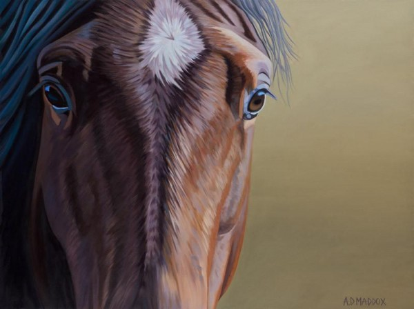 """Mustang Series I"" Giclee on Canvas by AD Maddox"