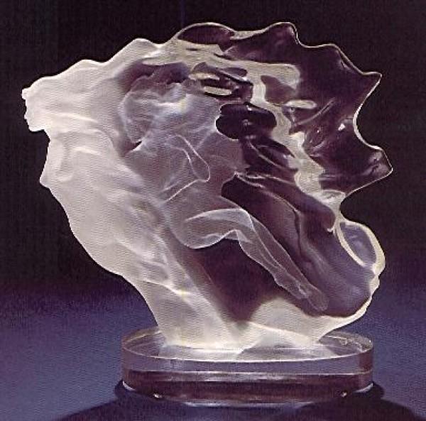 """Spirita"" Acrylic Sculpture by Frederick Hart"
