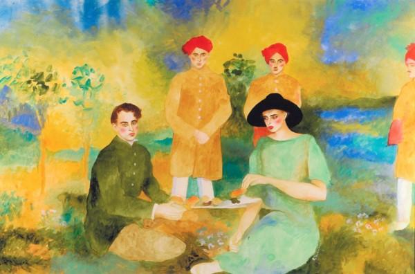 """Passage To India"" Original Watercolor by Joanna Zjawinska"