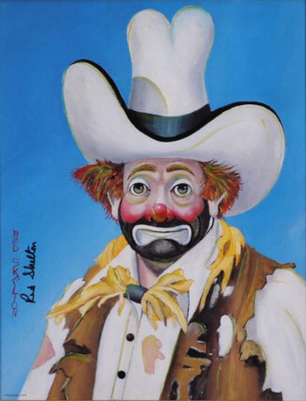 """The New Stetson"" Serigraph by Red Skelton"