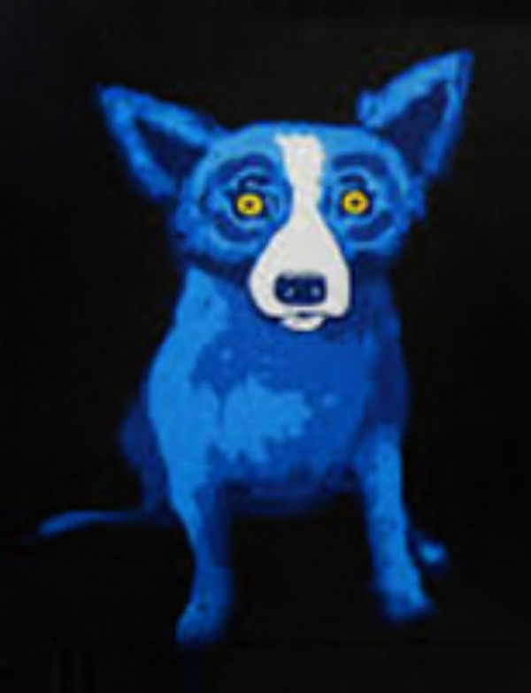 """""""Second Line Back"""" by George """"Blue Dog"""" Rodrigue"""