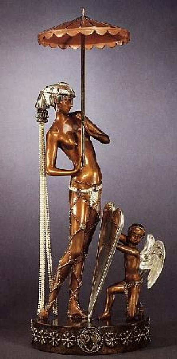 """Helen of Troy"" a Bronze Sculpture by Erte"
