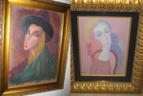 """Columbina"" and ""Refelctions"" Original works by Sergey Smirnov"