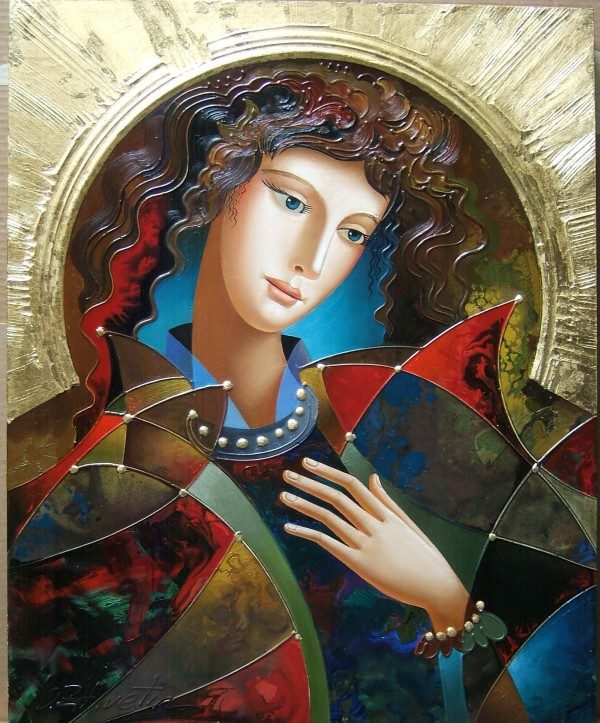 """In The Dream"" Original Oil on Board by Oleg Zhivetin"