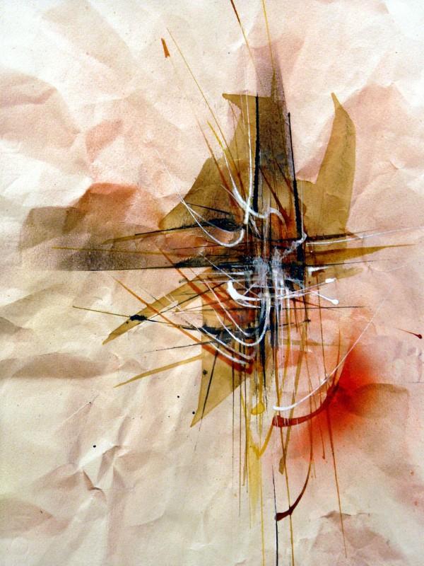 """""""REFLECTIONS""""   Original watercolor by Leonardo Nierman"""