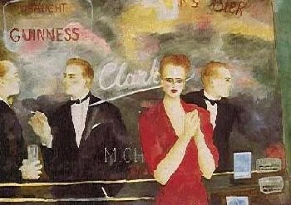 """Night Games"" Serigraph by Joanna Zjawinska"