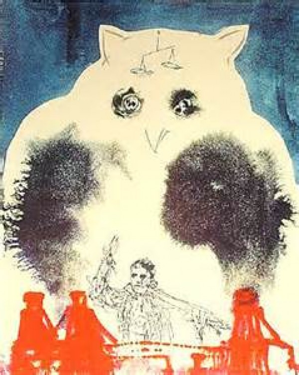 """""""Lawyer"""" 1978 Lithograph by Salvador Dali"""