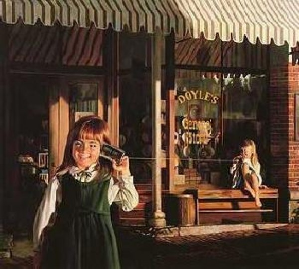 """""""After Supper"""" AP Lithograph by Bob Byerley"""