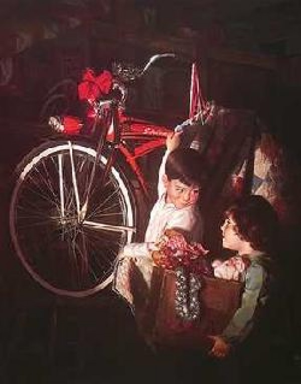 """""""Christmas Memories"""" Lithograph by Bob Byerley"""