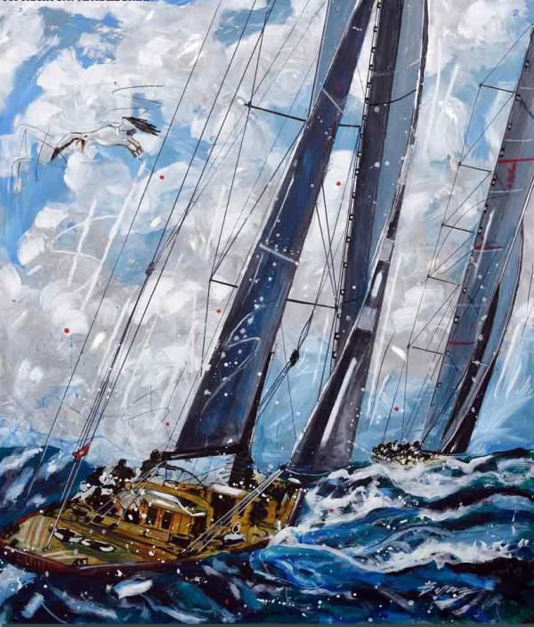 """""""Lion of the Sea"""" Limited Edition Print by Michael Bryan"""