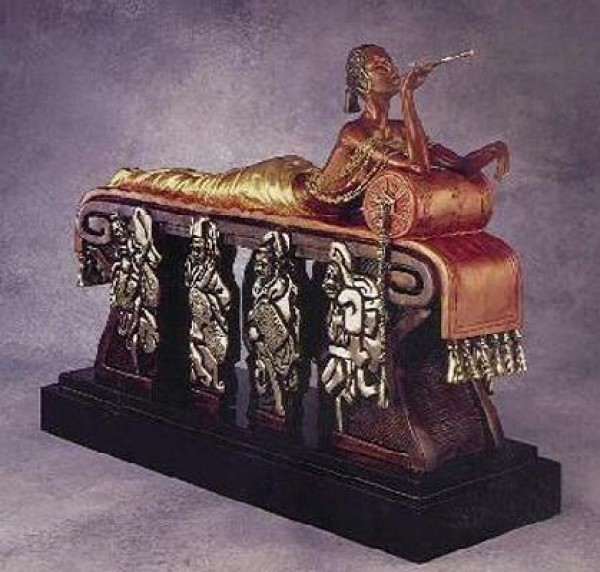 """""""Daydream"""" Bronze Sculpture by Erte"""