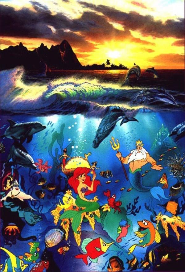 """Under The Sea"" Artagraph/Canvas by Christian Riese Lassen"