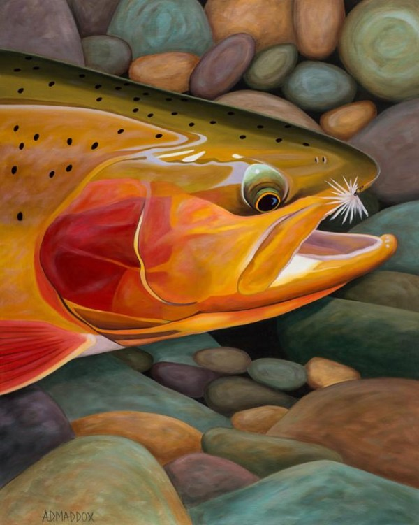 """Golden Catch"" Limited Edition Giclee on Paper by AD Maddox"