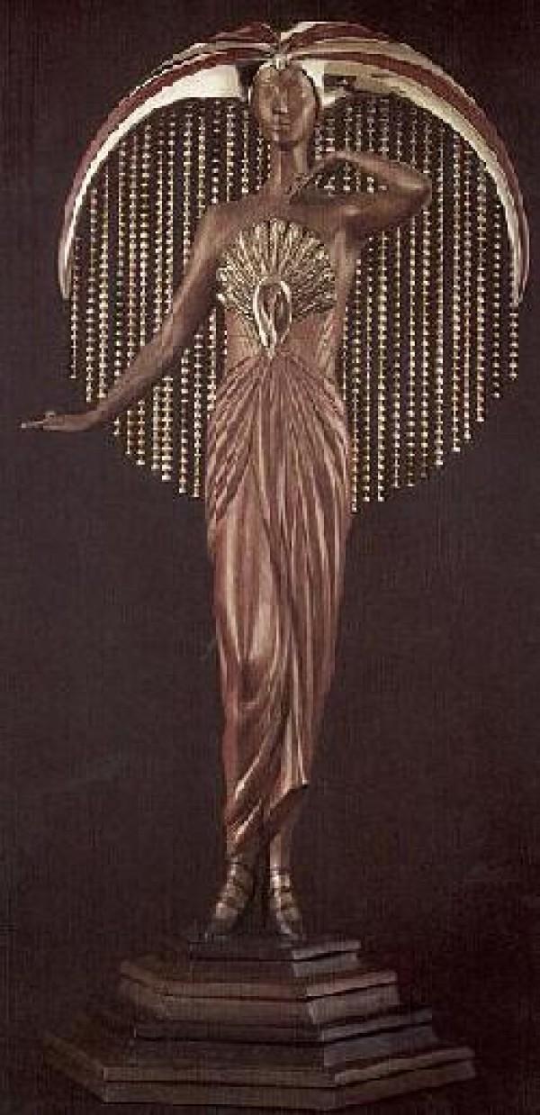 """""""Le Soleil"""" Bronze Sculpture by Erte"""