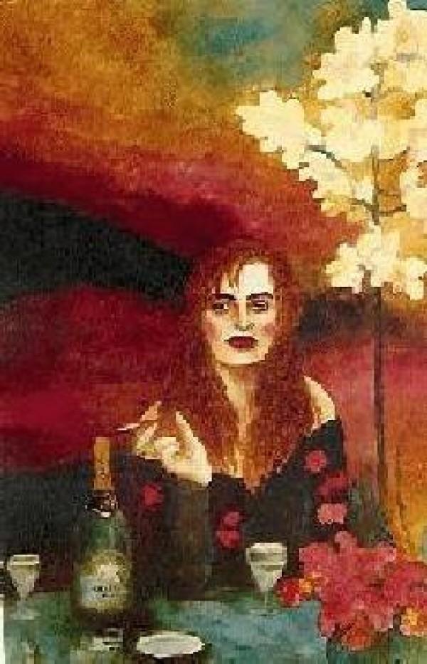 """Fatal Attraction"" Serigraph by Joanna Zjawinska"