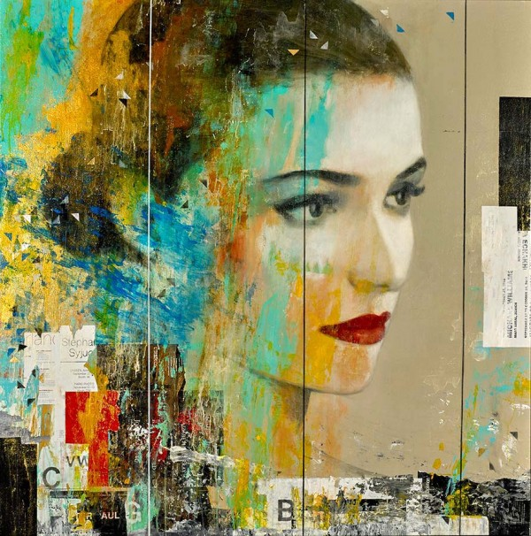 """""""Between The Lines"""" Pigment print on canvas by Francois Fressinier"""