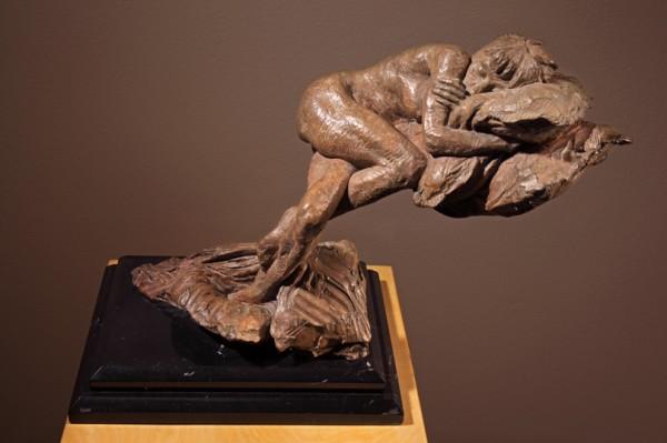 """""""The Pillow"""" Bronze Sculpture by Richard MacDonald"""