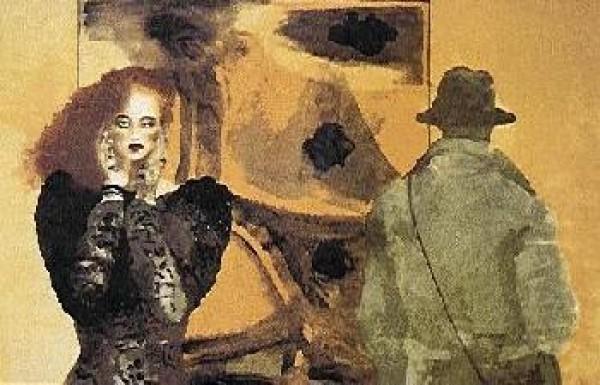 """Startled"" Limited Edition Serigraph by Joanna Zjawinska"