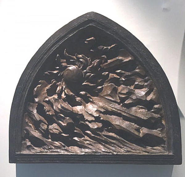 """""""Creation of Day"""" from the """"Ex Nihilo Creation Series Maquettes Bronze Sculptures by Frederick Hart"""