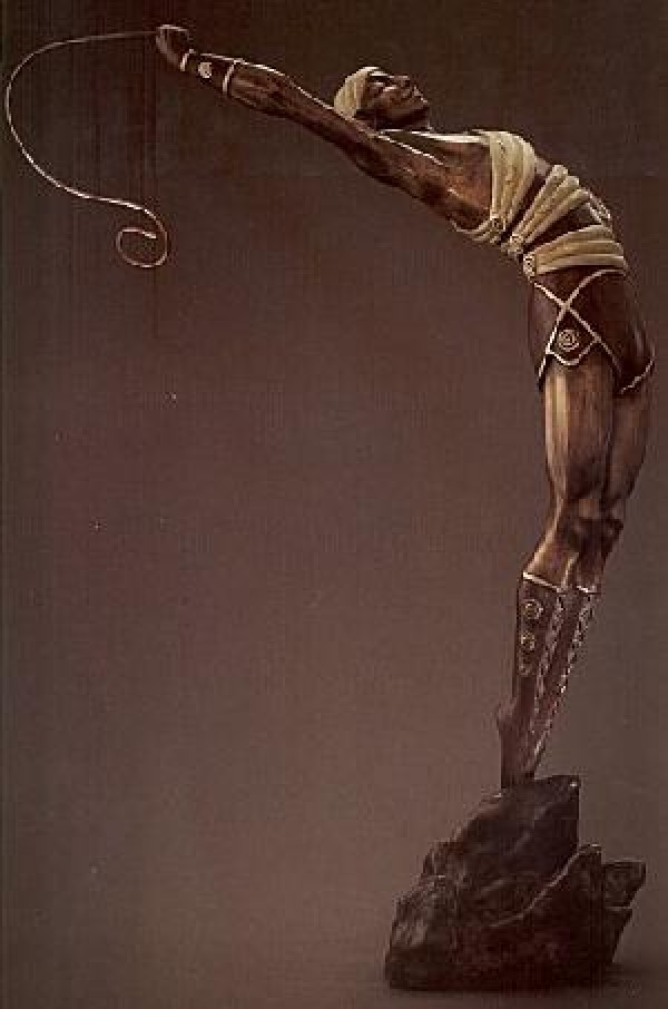 """Le Danseur"" Bronze Sculpture by Erte"